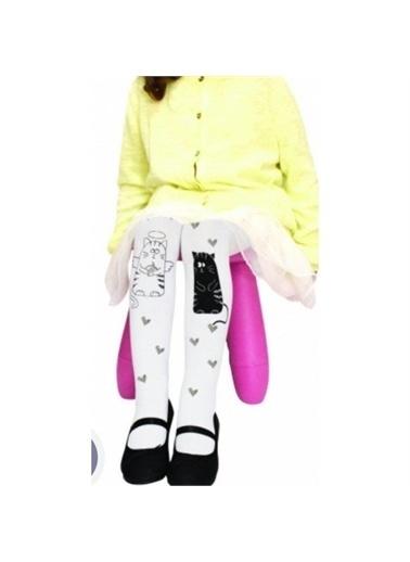 Riccotarz Kız Çocuk Sisi Külotlu Çorap Renkli